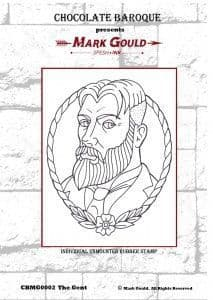 Chocolate Baroque Mark Gould The Gent Rubber Stamp